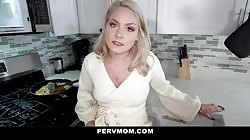 Cheating Stepmom Drains Her Stepson's Cock