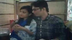Desi Bangladeshi horny lover couple public sex in Restaurent