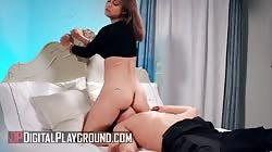 Digital Playground - Hot Babe Alina Lopez Gets Her Pussy Licked & Fucked Hard