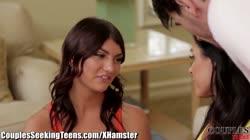 CouplesSeekingTeens - India Summer and Manuel Ferrara Seduce Teen