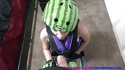 Hussiepass Natalie Porkman - Helmet Head